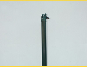 Vzpera poplastovaná (BPL) 38x1,25x2000 / ZN+PVC6005
