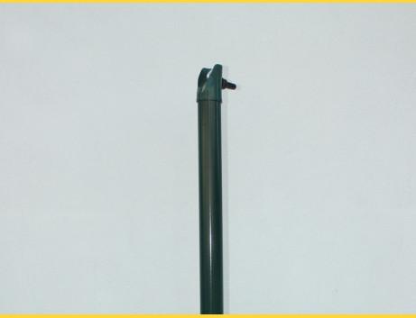 Vzpera okrúhla poplastovaná (BPL) 38x1,25x1750 / ZN+PVC6005