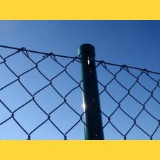Stĺpik okrúhly poplastovaný (BPL) 48x1,50x3000 / ZN+PVC6005
