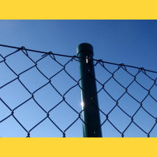 Stĺpik okrúhly poplastovaný (BPL) 60x2,50x4000 / ZN+PVC6005