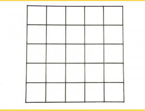Gabiony Blok 100x100mm / 4,00mm / 50x 50cm / ZN+AL