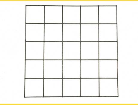 Gabiony Blok 100x100mm / 4,00mm / 150x 50cm / ZN+AL