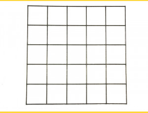 Gabiony Blok 100x100mm / 4,00mm / 200x100cm / ZN+AL