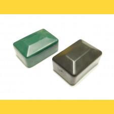 Čiapočka PVC 60x40mm / zelená