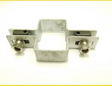Príchytka panelu na stĺp 60x40mm / 5mm / priebežná / HNZ