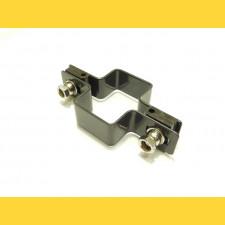 Príchytka panelu na stĺp 60x40mm / 5mm / priebežná / ZN+PVC7016