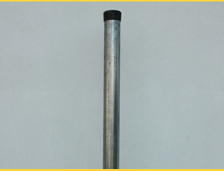 Stĺpik okrúhly pozinkovaný 48x1,50x2200 / ZN
