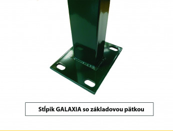 Posts GALAXIA with base plate