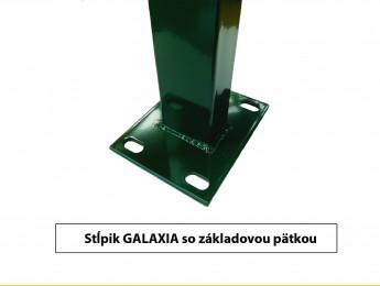 Stĺpiky GALAXIA s pätkou