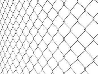 Chain link fence galvanized (ZN)