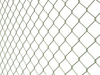 Maschendrahtzaun beschichtet (ZN+PVC)