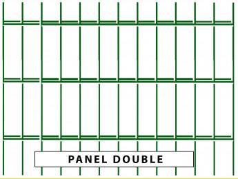 Fence panels DOUBLE