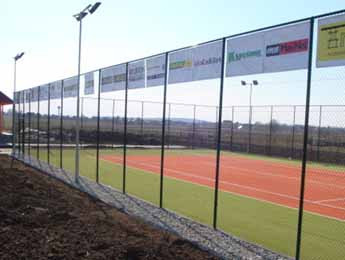 Posts for tennis courts