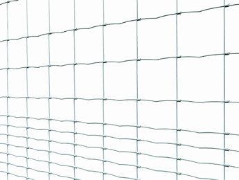 Knotted fence